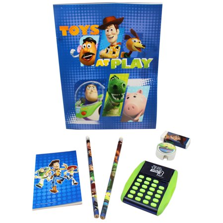 Disney Pixar's Toy Story Toys at Play Kids School Supplies Pack