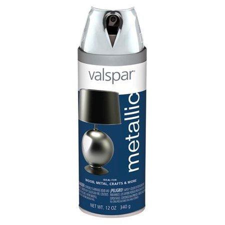 Spray Paint Metal Silver 12oz