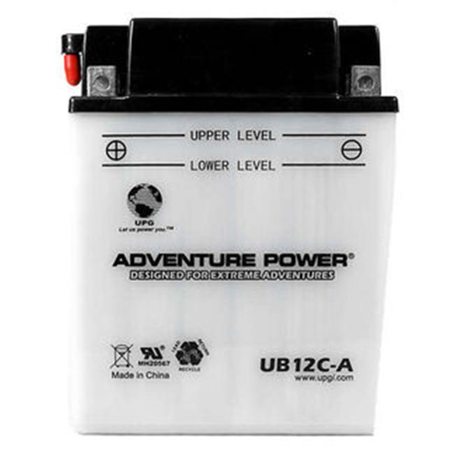 UPG 42522 UB12C-A, Conventional Power Sports Battery