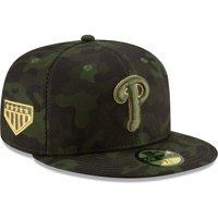 Philadelphia Phillies New Era MLB Armed Forces Day On-Field 59FIFTY Fitted Hat - Camo