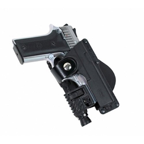 Fobus Roto Speed Holster, Glock 19,23,32, S&W 99 Compact, M&P Compact holds Handgun with Laser or Light by Fobus
