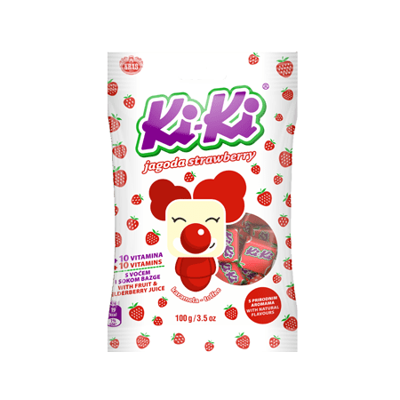 Kiki Strawberry Toffee, 3.5oz(100g)