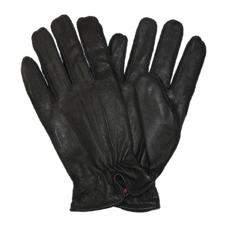 Dockers Men Genuine Leather Fleece & Thinsulate Lined Gloves