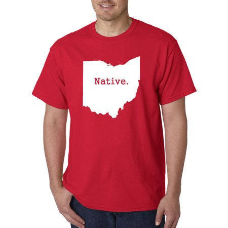 Exclusive Clothes (672 - Unisex T-Shirt Ohio Native Exclusive State Collection Usa )