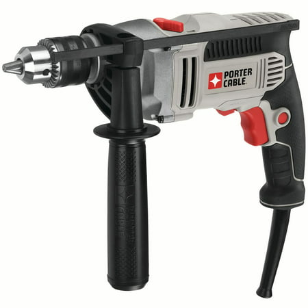 0.5 Inch Cordless Hammer Drill - PORTER CABLE 7.0-Amp 1/2-Inch VSR Hammer Drill, PCE141
