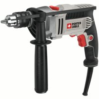 PORTER CABLE 7.0-Amp 1/2-Inch VSR Hammer Drill, PCE141