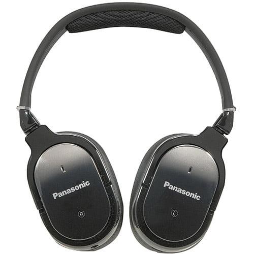 Panasonic RP-HX650-K DJ Style Monitor Headphones, Black (Discontinued by Manufacturer)