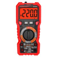 HABOTEST HT118C Digital Multimeter Manual Multi-meter 6000 Counts True RMS Measuring AC/DC Voltage Current Resistance Capacitance Frequency Temperature NCV Test Diode Battery Test with LCD Backlight