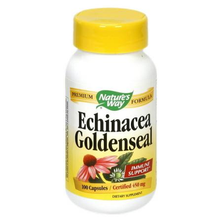 Nature's Way Echinacea Goldenseal - 100 Capsules Echinacea Goldenseal Capsules