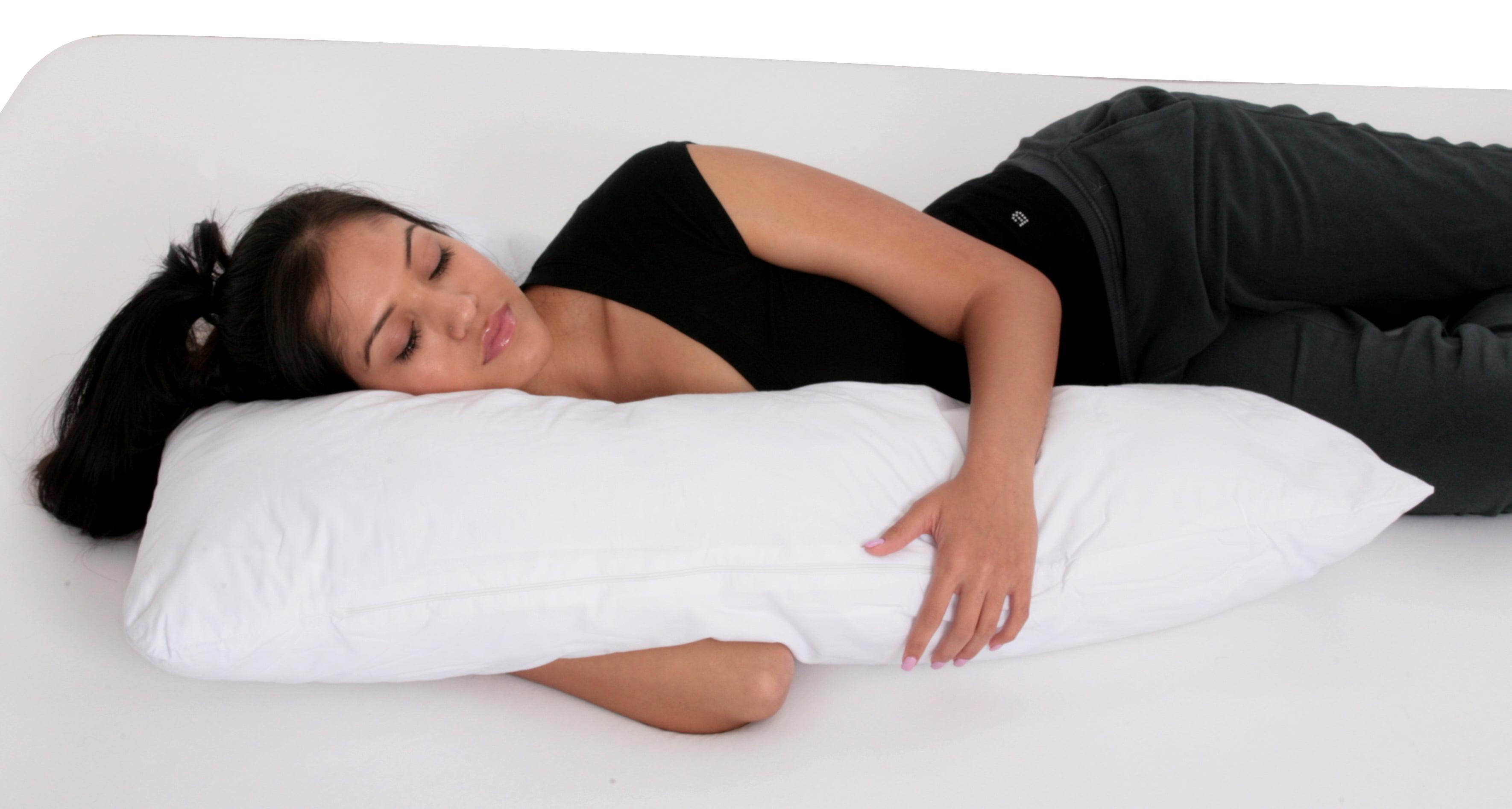 Deluxe Comfort Sleeper Body Cotton Bed Rest Pillow Walmartcom