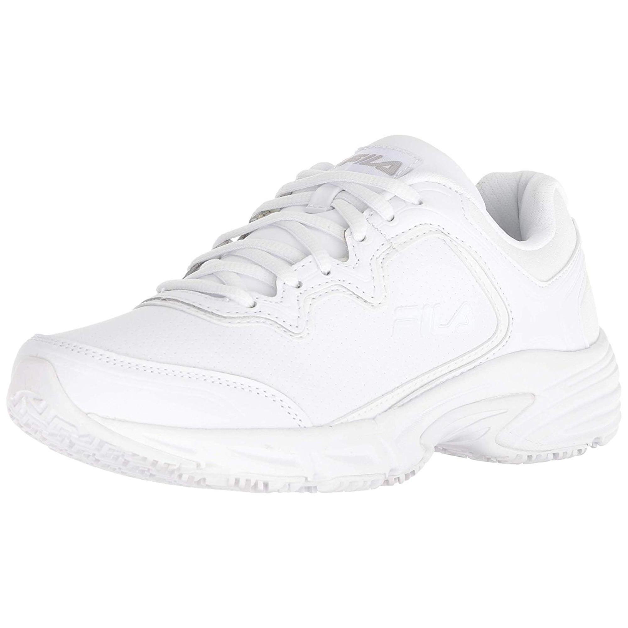 f474b6fe39 Fila Women's Memory Fresh Start 2 Slip Resistant Work Shoe | Walmart ...