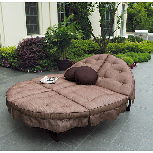 Delightful Mainstays Sand Dune Orbit Double Lounger