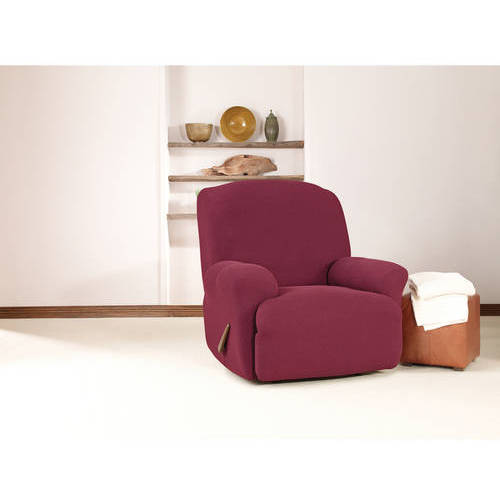 Sure Fit Simple Stretch Twill 1-Piece Recliner