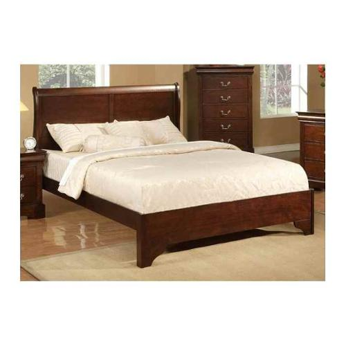 West Haven Low Profile Sleigh Bed (Full: 82 L x 56.5 W x 46.75 H)