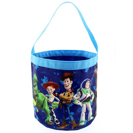 Toy Story 4 Boys Girls Collapsible Easter Basket Bucket Gift Tote Bag B19DY43014