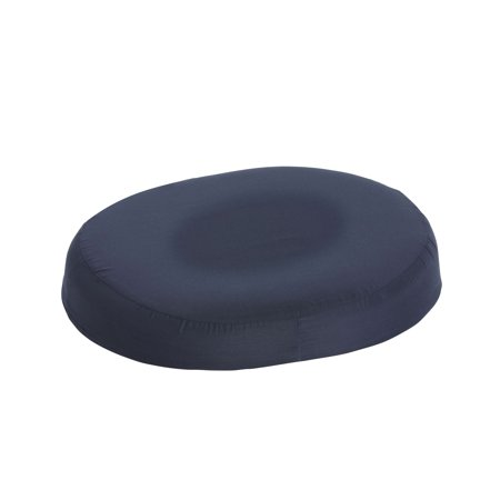DMI 16-inch Molded Foam Ring Donut Seat Cushion Pillow, Navy