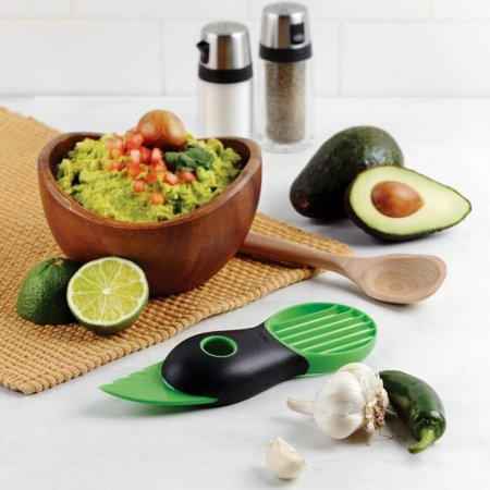 Avocado Slicer Tool 3-In-1 Multi-Function Slicer + Cutter + Pit Remover for Avocados and Fruits Hot Selling... by