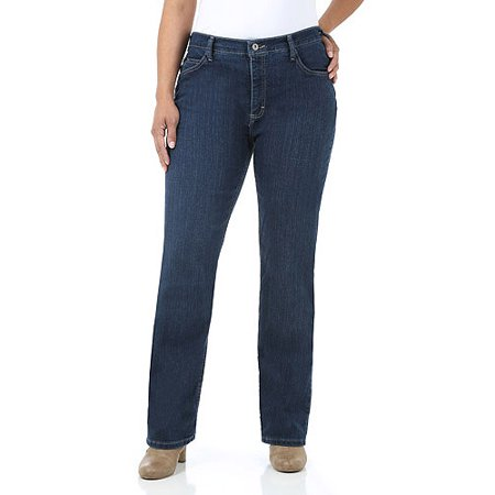 451a6fdb Lee Riders - Women's Plus-Size Classic Fit Straight Leg Jeans ...