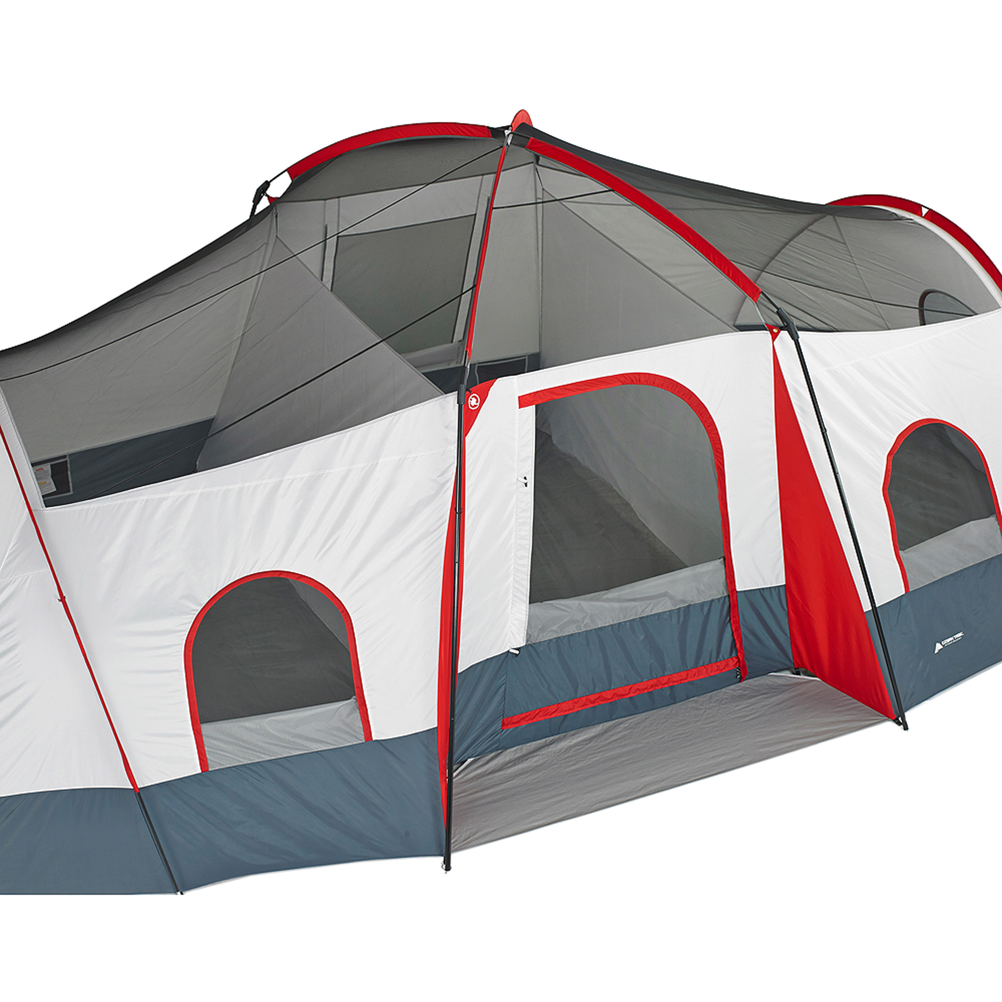 sc 1 st  Walmart & Ozark Trail 10-Person Cabin Tent with Integrated E-Port - Walmart.com