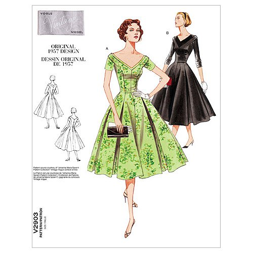 Misses'/Misses' Petite Dress-D (12-14-16) -*SEWING PATTERN* - image 1 of 1