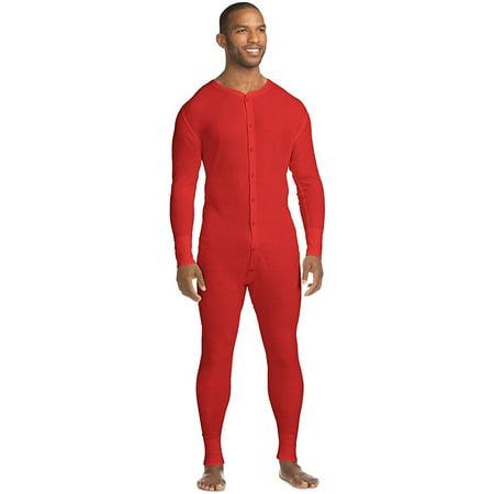 X-Temp™ Men's Organic Cotton Thermal Union Suit 14530