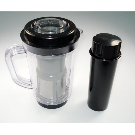 ProSource Juicer Attachment Pitcher Pusher Compatible with Original Magic Bullet Blender for Smoothies or Pancake