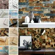 CUH Wood Peel And Stick Wall Decor Wallpaper