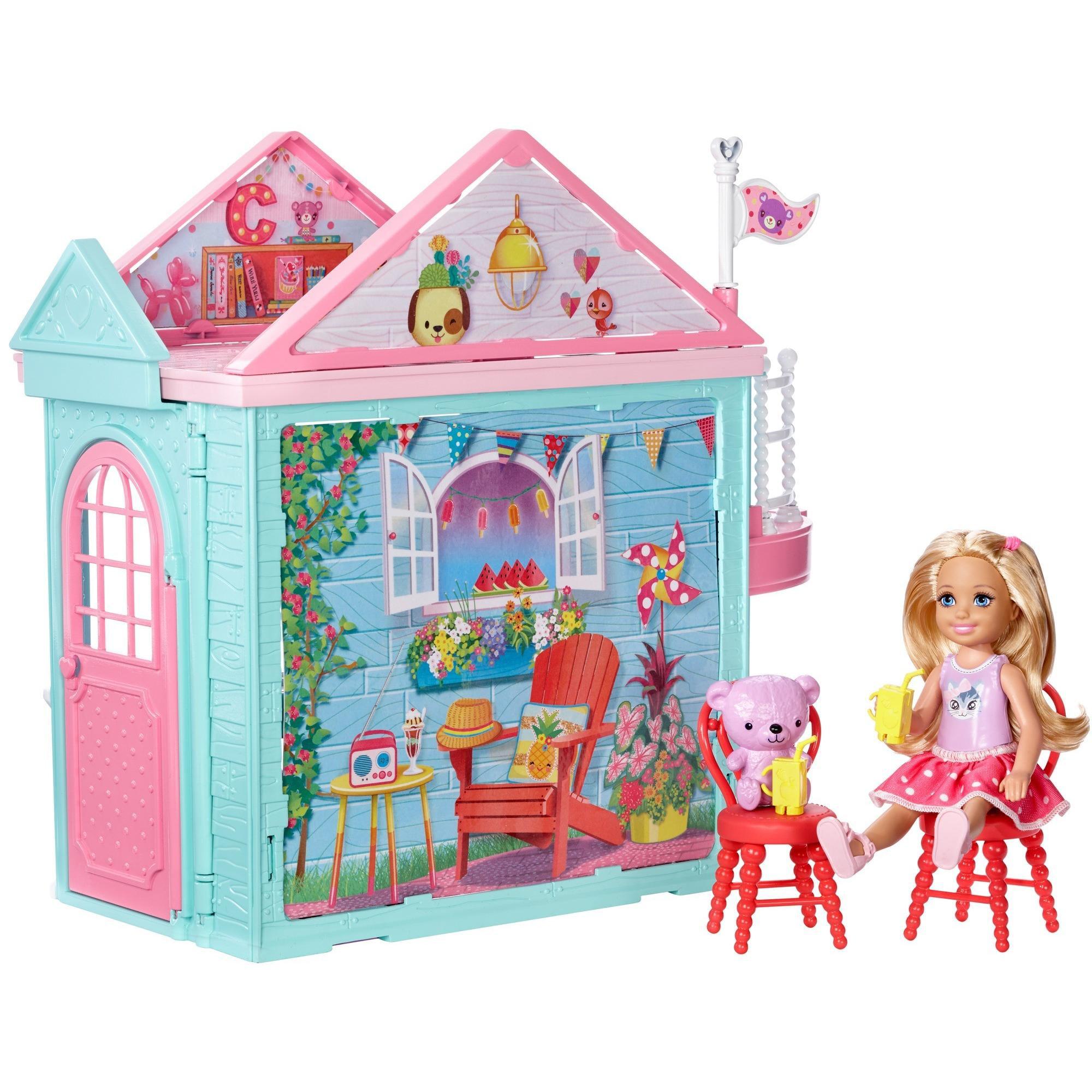Barbie Club Chelsea Playhouse - Walmart.com