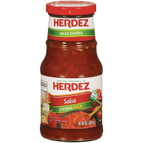Herdez Casera Mild Salsa, 16 oz