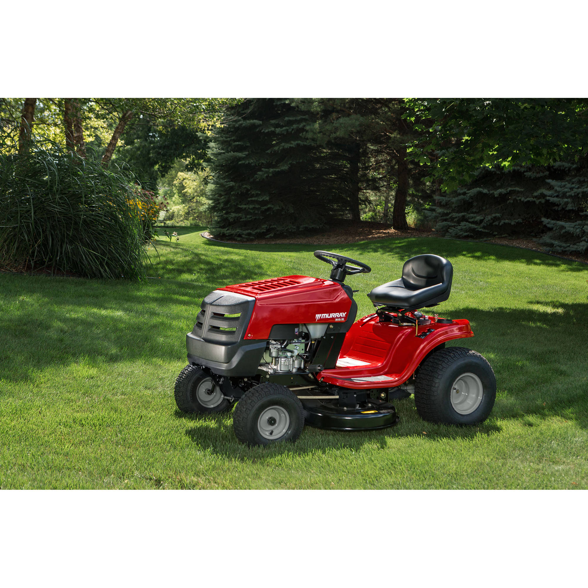 "murray 13ac77lf058 38"" 11 5 hp riding mower walmart"