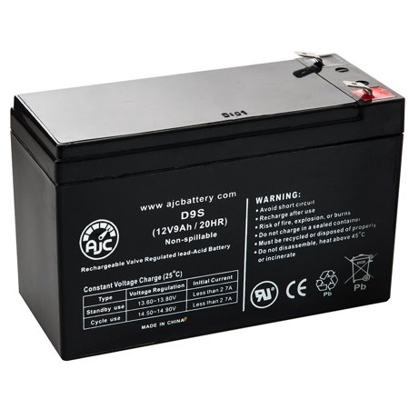 Minuteman MBK520i 12V 9Ah UPS Battery - This is an AJC Brand Replacement - image 1 de 5