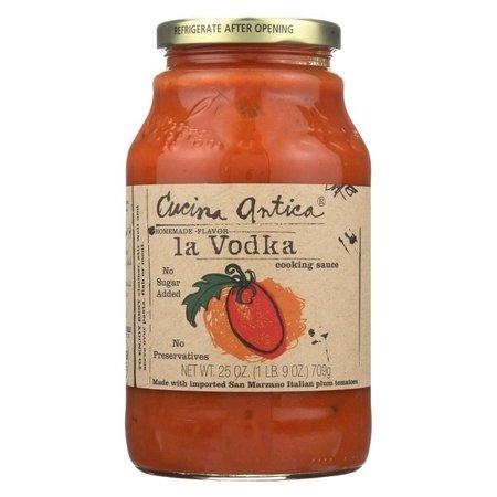 Cucina Antica La Vodka Cooking Sauce - Pack of 12 - 25