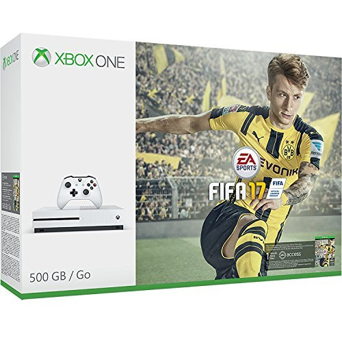 Refurbished Xbox One S 500GB FIFA 17 Console Soccer