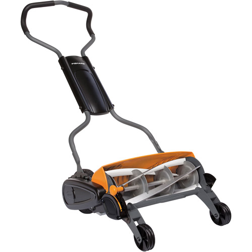 "Fiskars StaySharp Max 18"" Reel Mower"