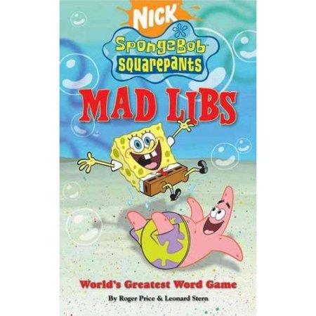 Spongebob Squarepants Mad Libs by