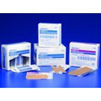 Curity Adhesive Strip 2 X 3-1/4 Inch Fabric Rectangle Tan Sterile, 44102- - Box of 50