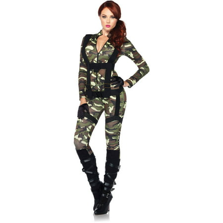 Leg Avenue Pretty Paratrooper Adult Halloween Costume (Cheap Leg Avenue Costumes)