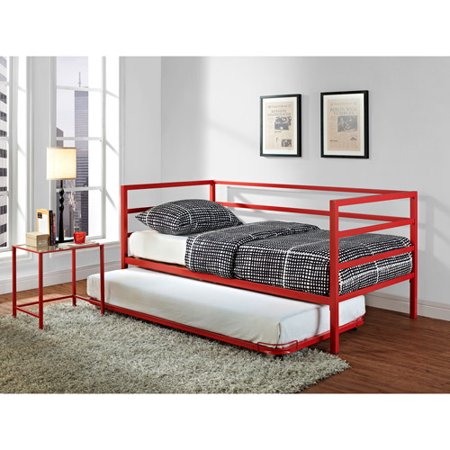 Parsons Trundle Bed  Red