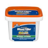 Elmer's Carpenter's Wood Filler Stainable Interior/Exterior, 16.0 OZ