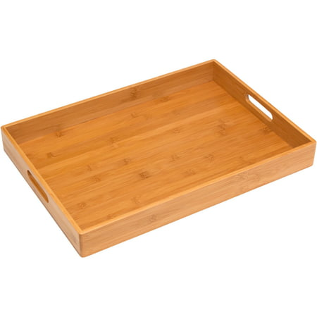 Lipper International Solid Bamboo - Dining Tray