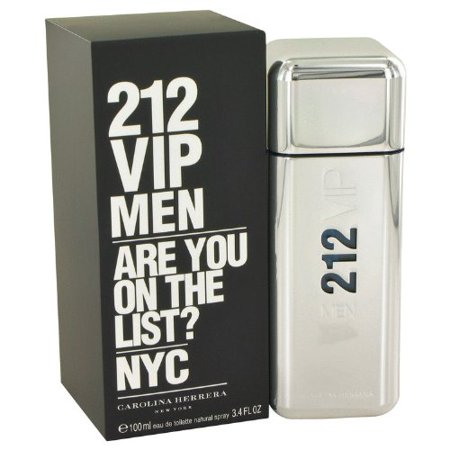 212 Vip by Carolina Herrera Men's 100Ml 3.4 Fl.Oz Eau De Toilette Spray