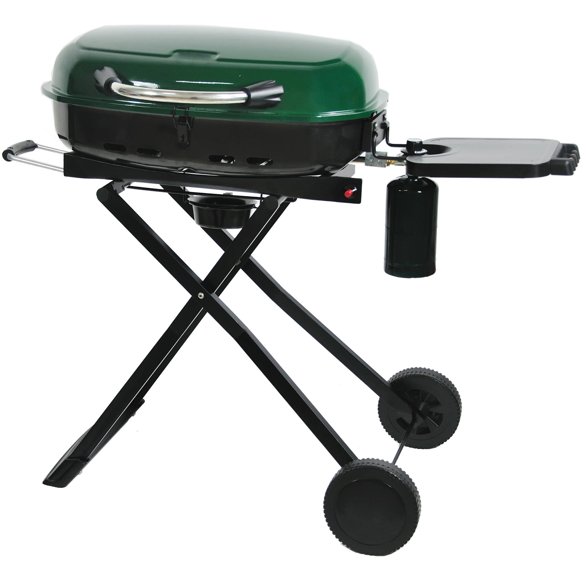 RevoAce 15,000 BTU LP Gas Tailgating Grill, Hunter Lodge Green