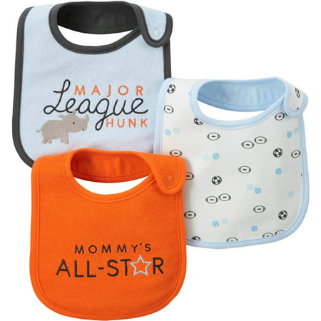 Child Of Mine By Carter S Newborn Baby Boy Bib 3 Pack
