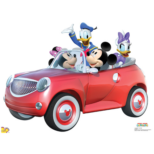 Advanced Graphics Disney Mickey Car Ride Stand-Up