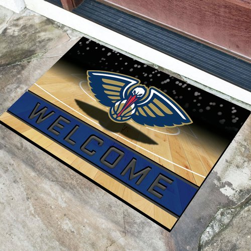 New Orleans Pelicans Crumb Rubber Door Mat