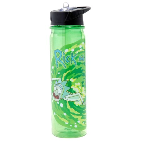 dbb0b8d00f Rick & Morty Portal Water Bottle - Walmart.com