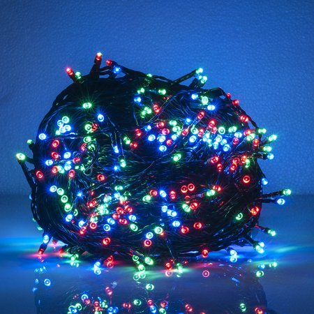 Weanas Rgb Solar Power String Fairy Lights 400 Leds Multi Color Red Green Blue Solar Energy 133 Feet 40 5M For Indoor Outdoor Home Garden Christmas Wedding Party