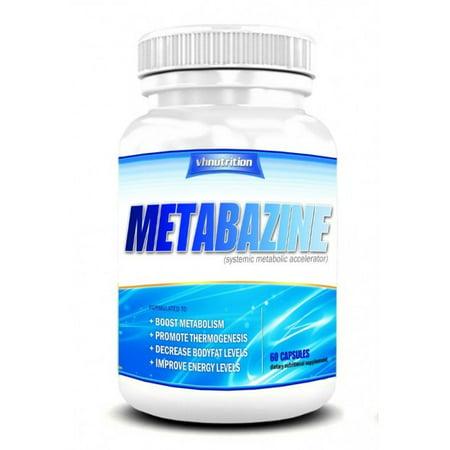 Metabazine métabolisme Booster | Hypermetabolizer Capsules