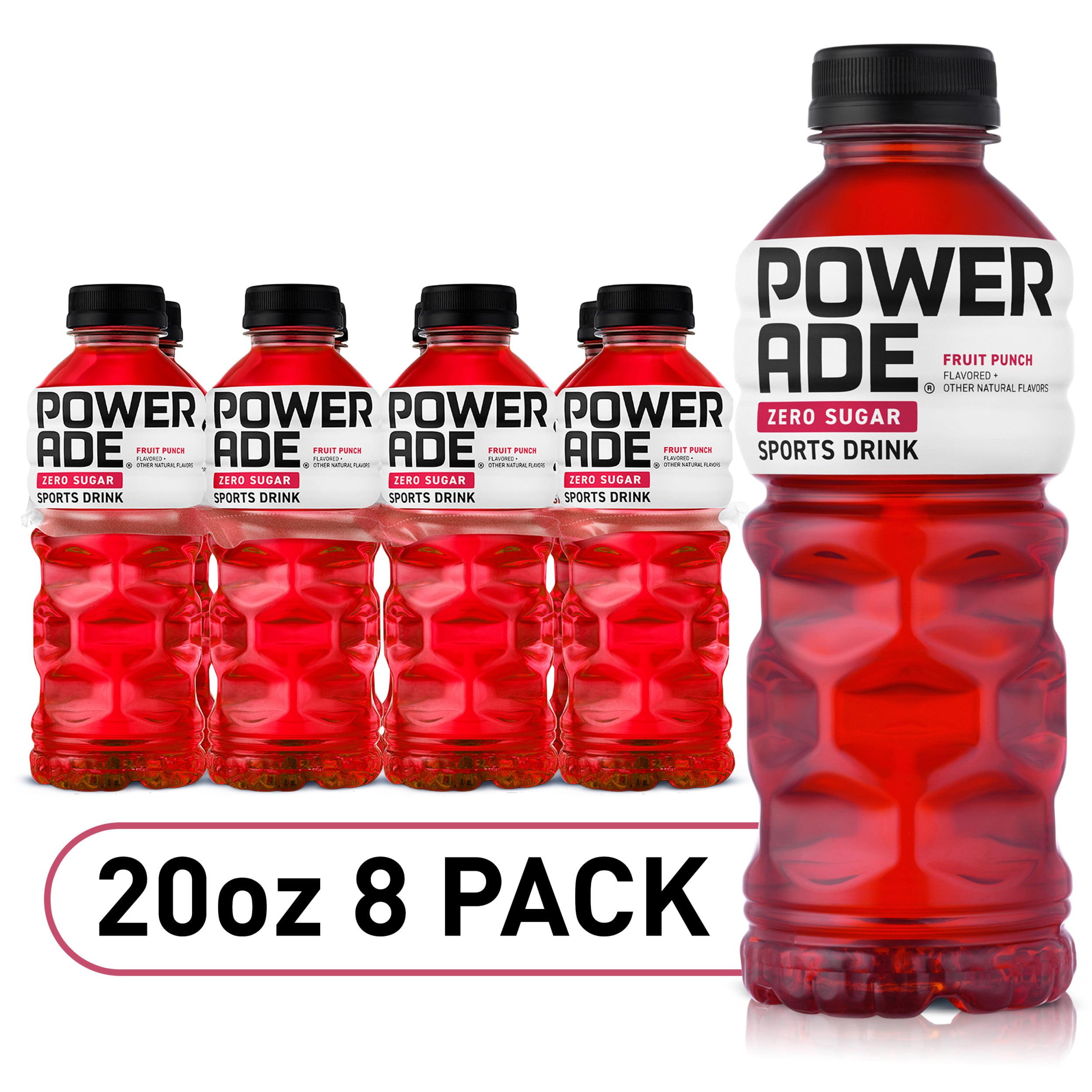 Powerade Zero Fruit Punch 20 Fl Oz 8 Pack Walmart Com Walmart Com