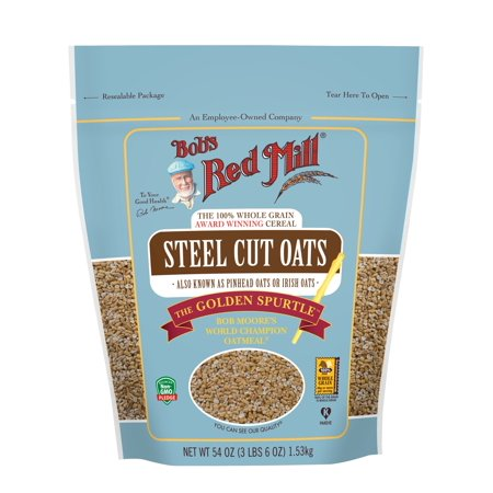 Bob's Red Mill Steel Cut Oats, 54 Ounce (700 Oats)